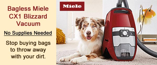 Miele CX1 Bagless Canister