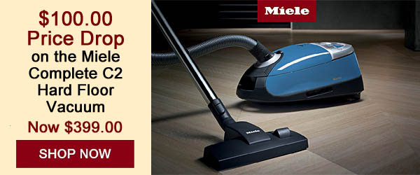 Save $100 on a Miele Complete C2 Hard Floor Vacuum