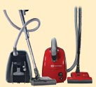 SEBO Canister Vacuum Cleaners
