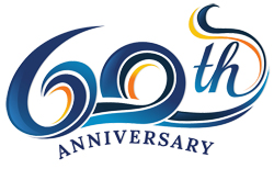 60th Anniversary Graphic
