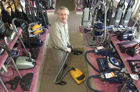 Photo Of Mr Ristenbatt In The Manheim Store