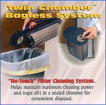Hoover Twin Chamber™ Dirt Cup with HEPA Filter