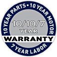 SEBO Extended Warranty Graphic
